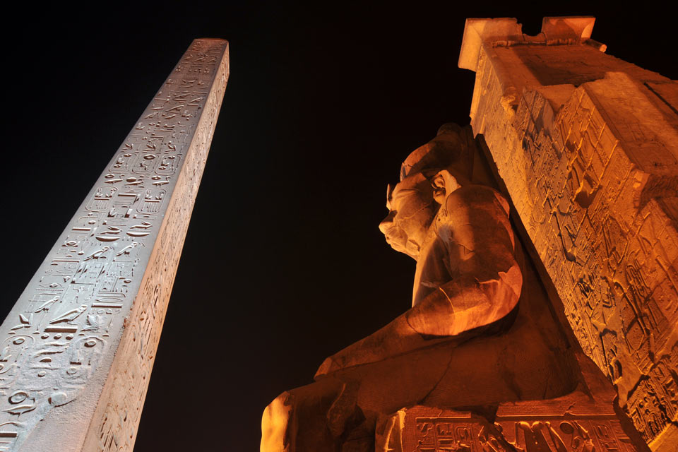 Palms, pyramids & pharaohs