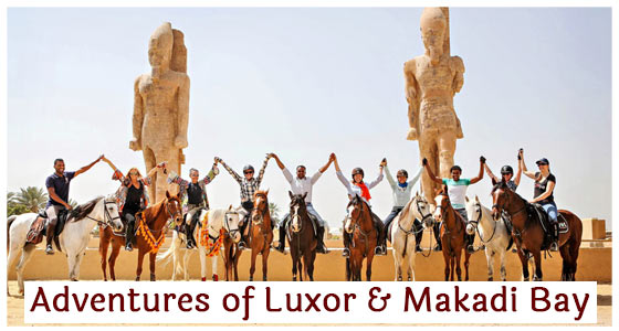 Adventures of Luxor & Makadi Bay