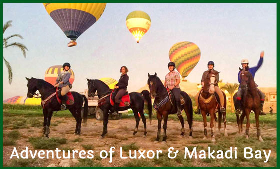Adventures of Luxor & Makadi Bay